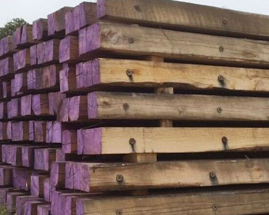 12 Inch Timber Mats Bridge Mats Amp Excavator Mats