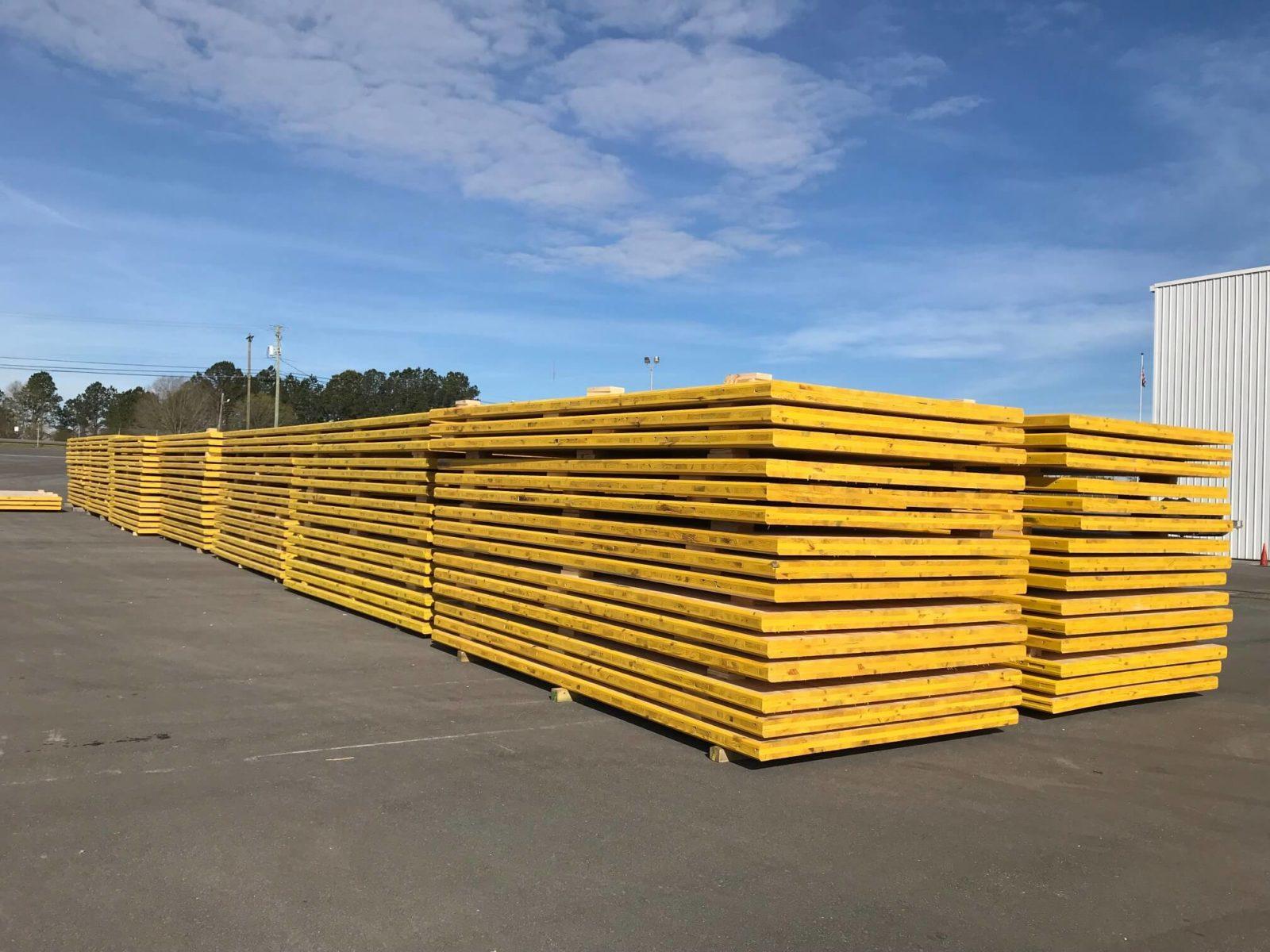 Timber Mats | Wooden Construction, Logging, & Excavator Mats